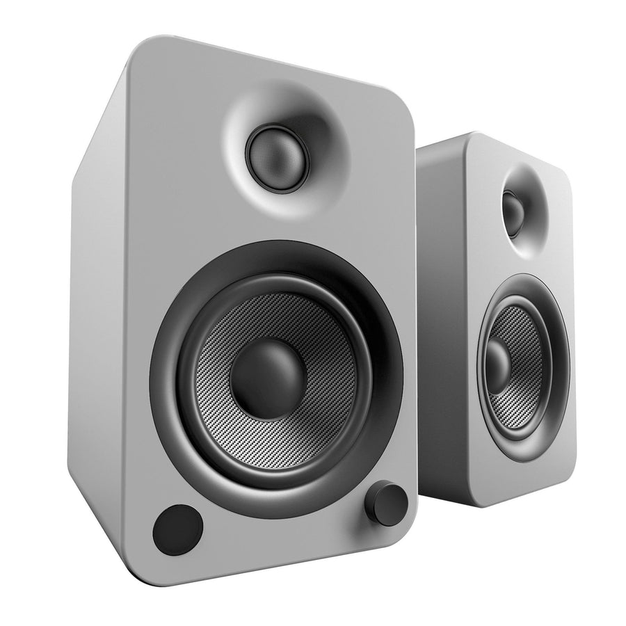 Kanto YU4 Powered Speakers with Bluetooth and Phono PreampSpeakersMatte Grey