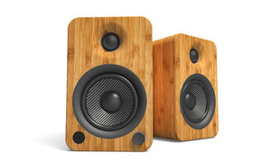 Kanto YU4 Powered Speakers with Bluetooth and Phono PreampSpeakersWalnut