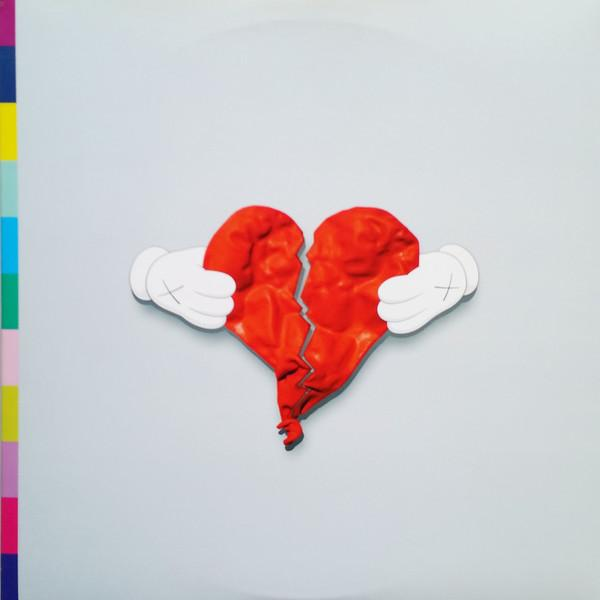 Kanye West - 808s & Heartbreak (Deluxe, +CD)Vinyl