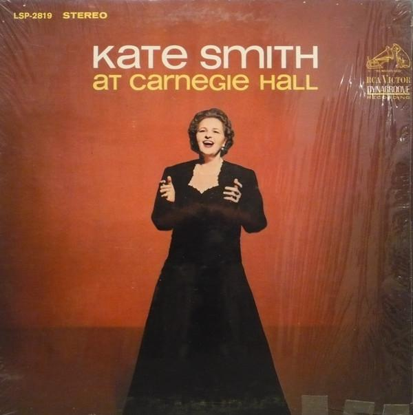 Kate Smith - Kate Smith At Carnegie Hall (LP, Album, Used)Used Records