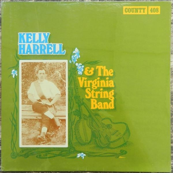 Kelly Harrell And The Virginia String Band - Kelly Harrell & The Virginia String Band (LP, Comp, Used)Used Records
