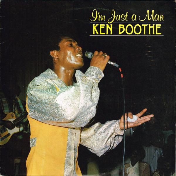 Ken Boothe - I'm Just A Man (LP, Album, Used)Used Records