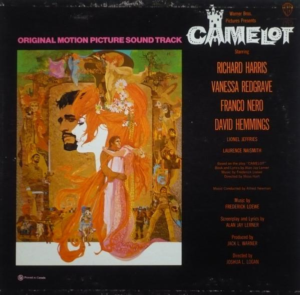 Lerner & Loewe - Camelot (Original Motion Picture Sound Track) (LP, Album, Mono, Used)Used Records