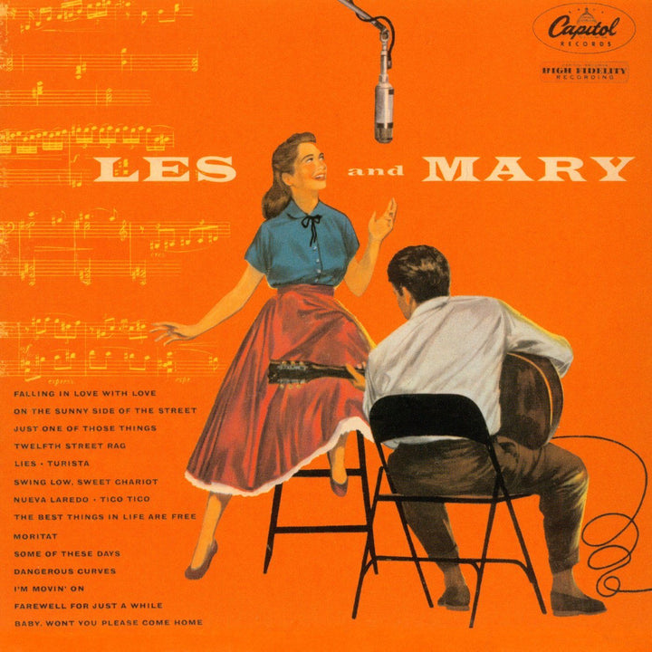 Les Paul & Mary Ford - Les And Mary (Reissue)Vinyl