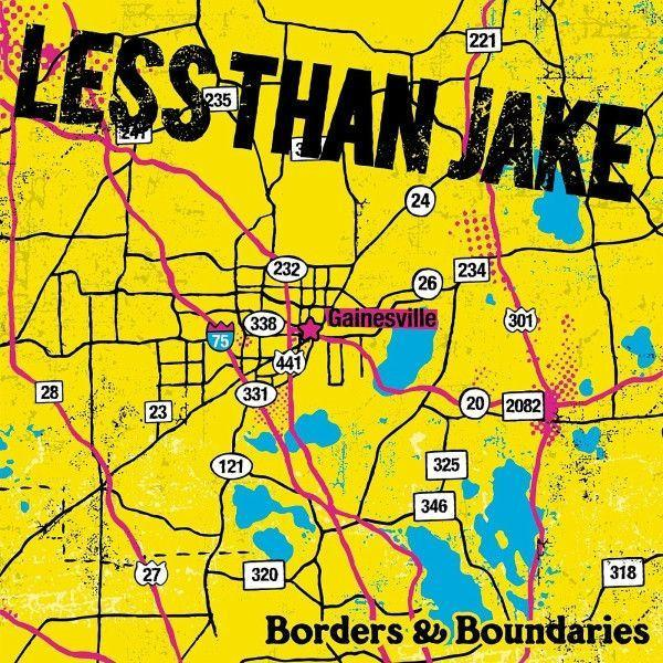 Less Than Jake - Borders & Boundaries (Reissue, Limited Edition, + DVD)Vinyl