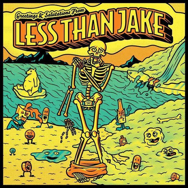 Less Than Jake - Greetings & Salutations From Less Than JakeVinyl