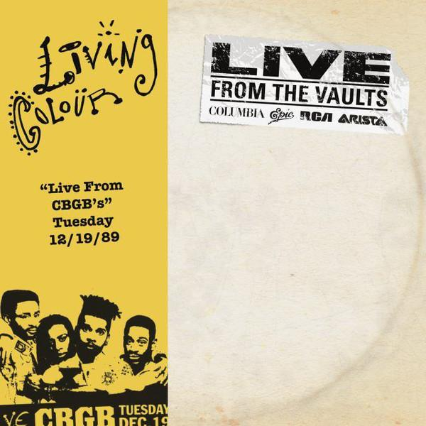 Living Colour - Live from CBGB's (2LP)Vinyl