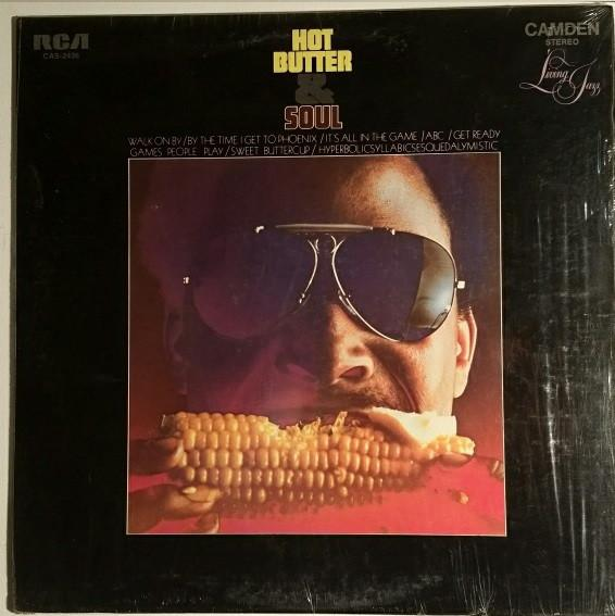 Living Jazz - Hot Butter & Soul (LP, Used)Used Records