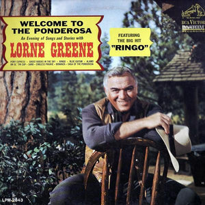 Lorne Greene - Welcome To The Ponderosa (LP, Album, Mono, Used)Used Records