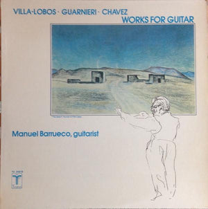Manuel Barrueco - Works For Guitar (LP, Album, Used)Used Records