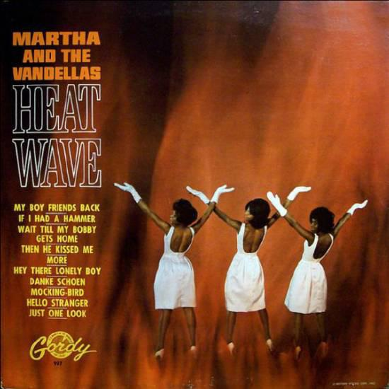 Martha Reeves & The Vandellas - Heat Wave (LP, Album, Mono, RE, Used)Used Records