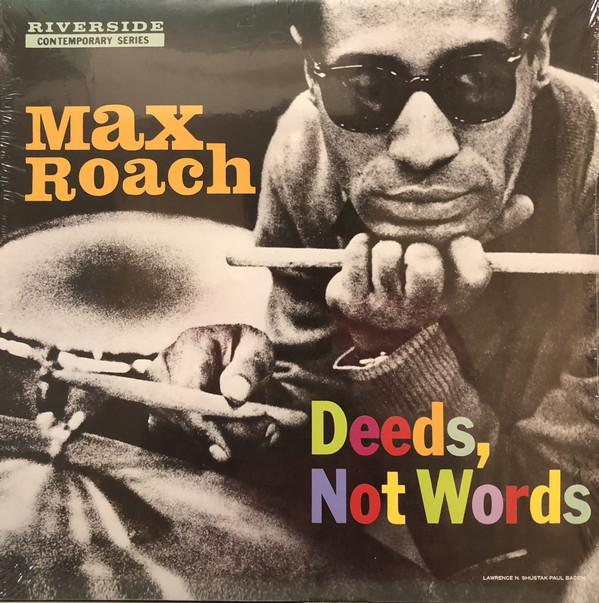 Max Roach - Deeds, Not Words (Reissue, Remastered)Vinyl