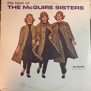 McGuire Sisters - The Best Of The McGuire Sisters (2xLP, Comp, Used)Used Records