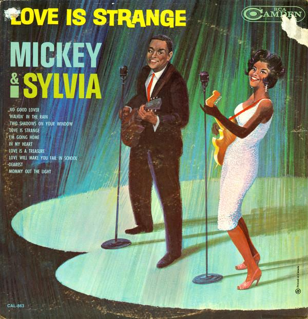 Mickey & Sylvia - Love Is Strange (LP, Album, Mono, Used)Used Records