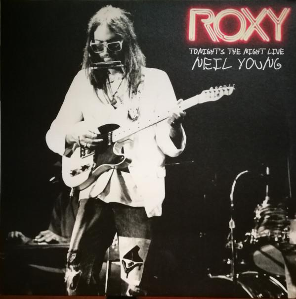 Neil Young - Roxy (Tonight's The Night Live) (2LP, Single Sided, Etched)Vinyl