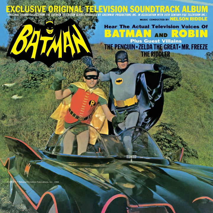 Nelson Riddle - Batman (Exclusive Original Television Soundtrack Album) (Reissue, Mono)Vinyl