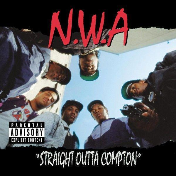 N.W.A - Straight Outta Compton (20th Anniversary Edition) (2LP, 180 gram, Remastered)Vinyl