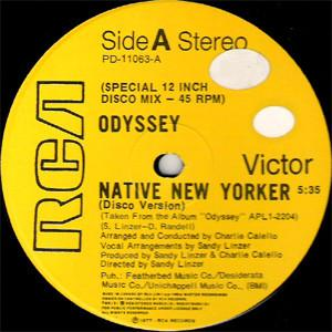 "Odyssey - Native New Yorker (12"", Used)Used Records"