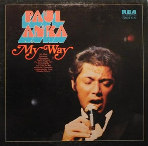 Paul Anka - My Way (LP, Comp, Used)Used Records