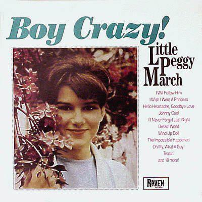 Peggy March - Boy Crazy! (LP, Comp, Mono, Used)Used Records