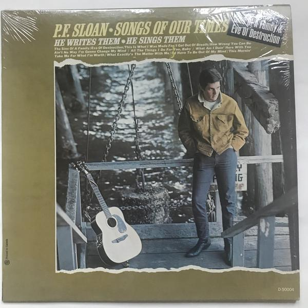 P.F. Sloan - Songs Of Our Times (LP, Album, Mono, Used)Used Records