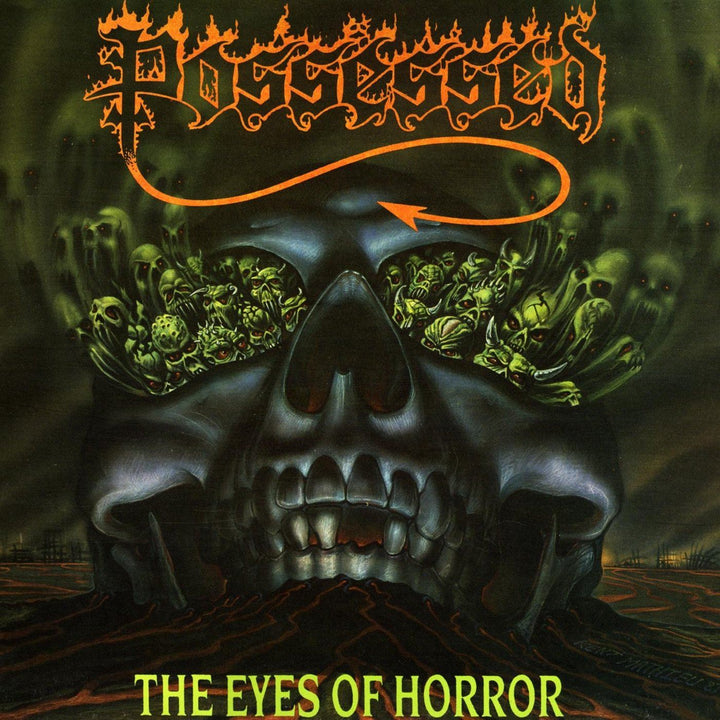 Possessed - The Eyes Of Horror (Single Sided, EP, Etched, Reissue, Remastered)Vinyl