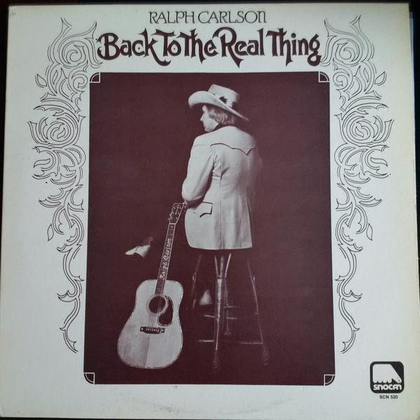 Ralph Carlson & Country Mile - Back To The Real Thing (LP, Album, Used)Used Records