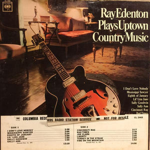 Ray Edenton - Plays Uptown Country Music (LP, Mono, Used)Used Records