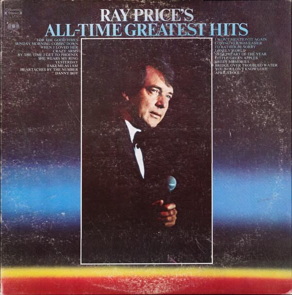 Ray Price - All Time Greatest Hits (2xLP, Comp, Used)Used Records