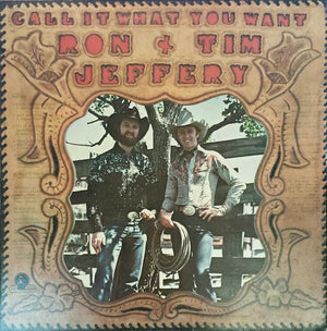 Ron Jeffery - Call It What You Want (LP, Album, Used)Used Records