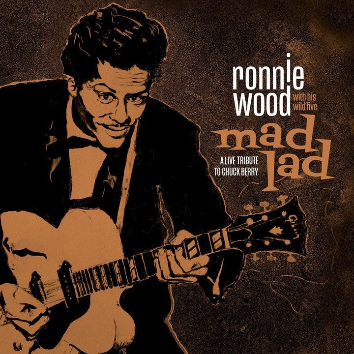 Ronnie Wood With His Wild Five - Mad Lad: A Live Tribute To Chuck Berry (2LP, Deluxe Edition)Vinyl