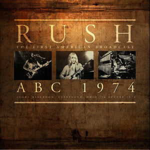 Rush - ABC 1974 (2LP, 180 gram, Limited edition)Vinyl