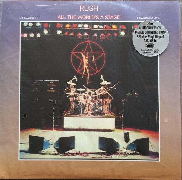 Rush - All The World's A Stage (2LP)Vinyl