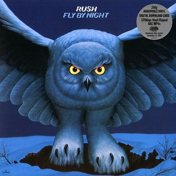 Rush - Fly by Night (200gram Audiophile + MP3)Vinyl