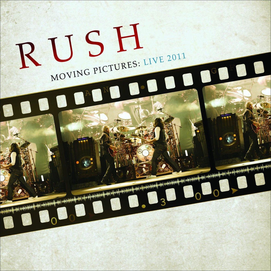 Rush - Moving Pictures: Live 2011Vinyl