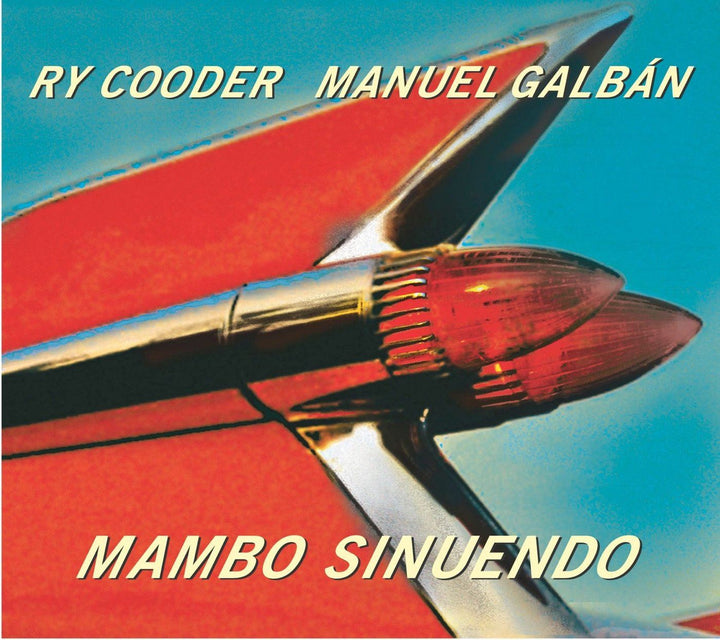 Ry Cooder, Manuel Galbán - Mambo Sinuendo (2LP, Single Sided, Etched, Reissue)Vinyl