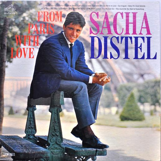 Sacha Distel - From Paris With Love (LP, Used)Used Records