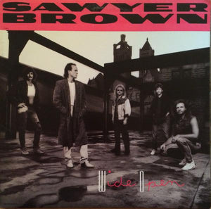 Sawyer Brown - Wide Open (LP, Album, Used)Used Records