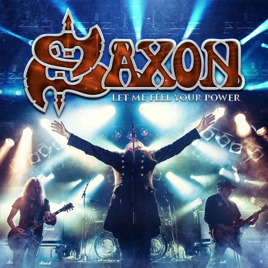 Saxon - Let Me Feel Your Power Deluxe Edition, Blu-ray, CD)Vinyl