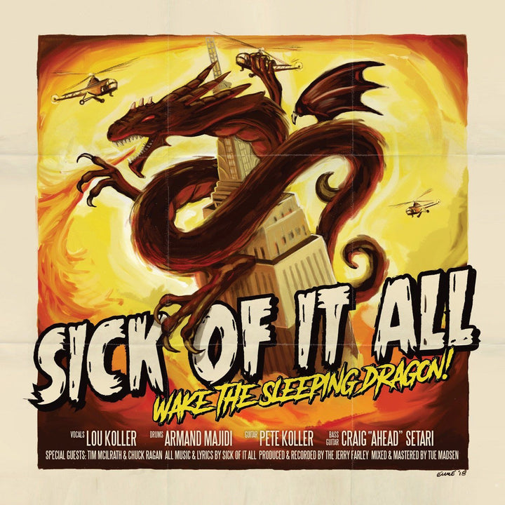 Sick Of It All - Wake The Sleeping Dragon! (Limited Edition, Numbered, +CD)Vinyl