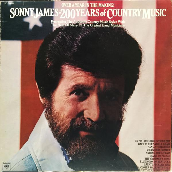 Sonny James - 200 Years Of Country Music (LP, Used)Used Records