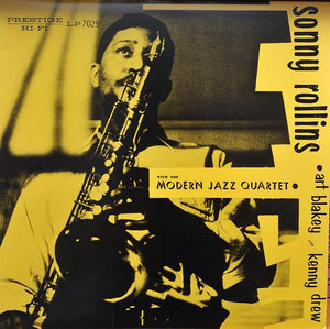Sonny Rollins With The Modern Jazz Quartet, Art Blakey, Kenny Drew - Sonny Rollins With The Modern Jazz Quartet (Remastered, Mono)Vinyl