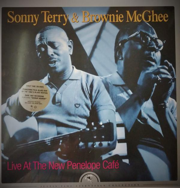 Sonny Terry & Brownie McGhee - Live At The New Penelope Café (Reissue, Remastered, Mono)Vinyl