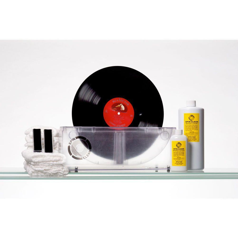 Spin-Clean Record Washer System MKII Limited Edition CLEAR PackageCleaning