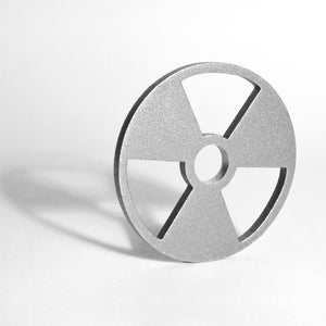 "Stainless Steel 7"" Adapter (12ga, Tumble Polished)AccessoriesRadioactive"