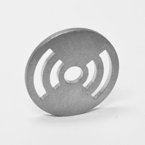 "Stainless Steel 7"" Adapter (12ga, Tumble Polished)AccessoriesRadiowave"
