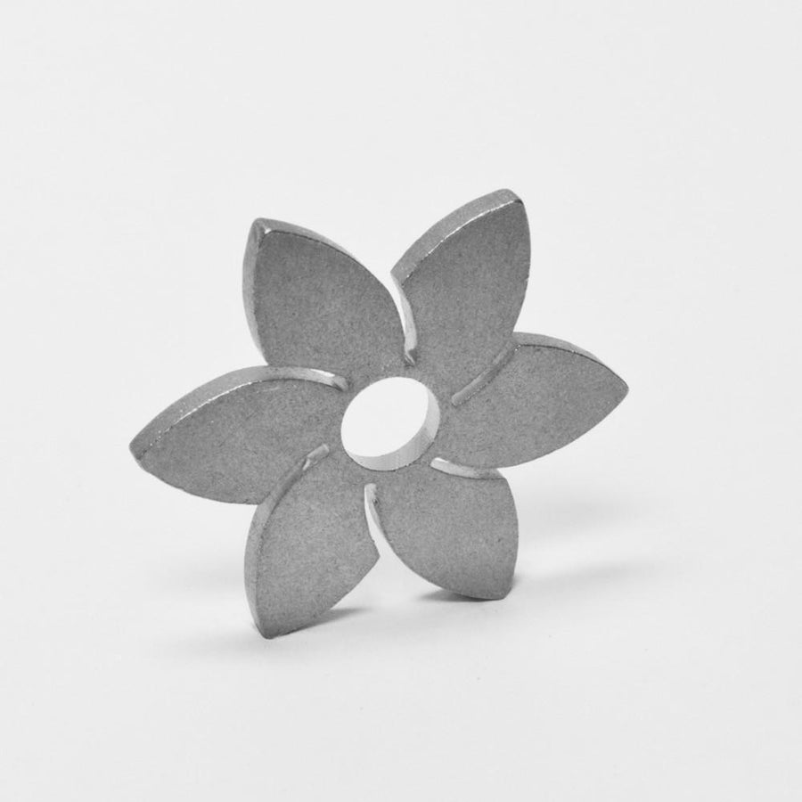"Stainless Steel 7"" Adapter (12ga, Tumble Polished)AccessoriesSpring Flower"