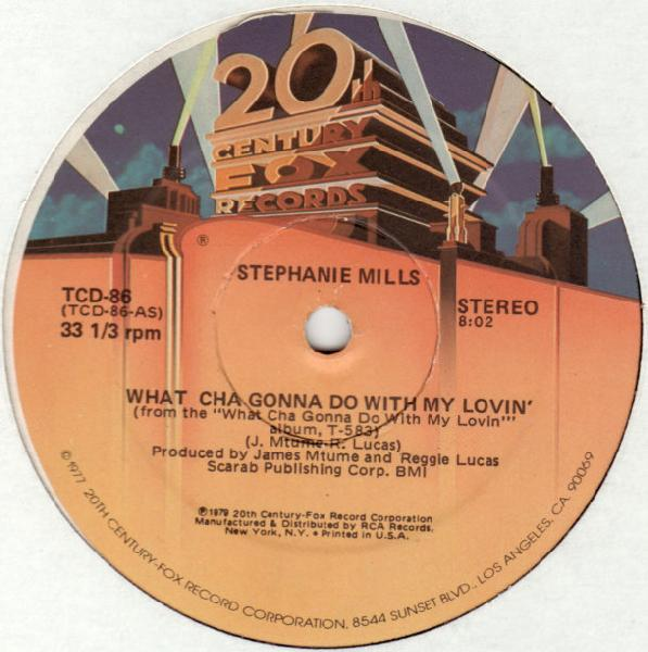 "Stephanie Mills - What Cha Gonna Do With My Lovin' (12"", Used)Used Records"