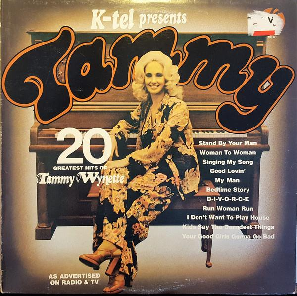 Tammy Wynette - Tammy - 20 Greatest Hits Of Tammy Wynette (LP, Comp, Used)Used Records