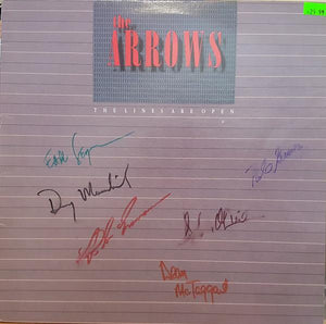 The Arrows - The Lines Are Open (LP, Album, Used)Used Records